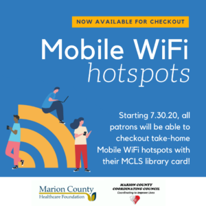 Mobile Wifi Hotspots Mcls Marion County Library System